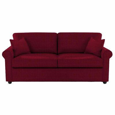 Madison Queen Sleeper Sofa Upholstery: Cinnabar