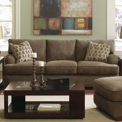 Vaughn Sofa Finish: Bonrad Bark