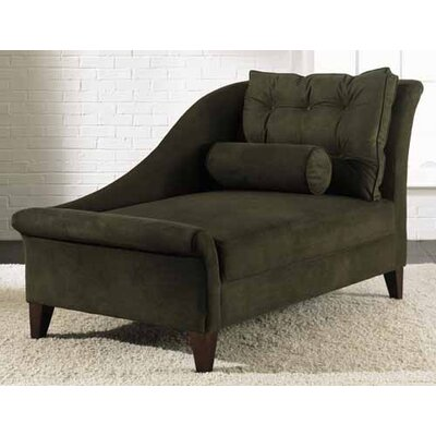 Park Chaise Lounge Upholstery: Microsuede Thyme