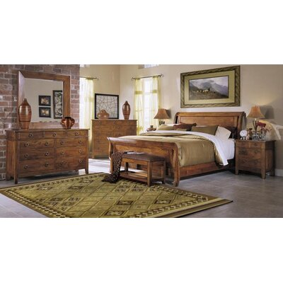 Urban Craftsmen Sleigh Configurable Bedroom Set