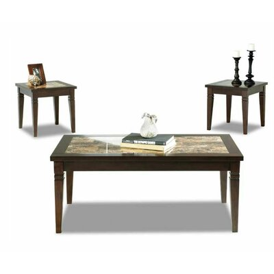 Tatum 3 Piece Coffee Table Set