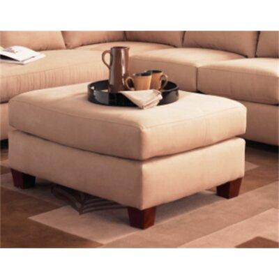 Higgins Ottoman Upholstery: Microsuede Khaki