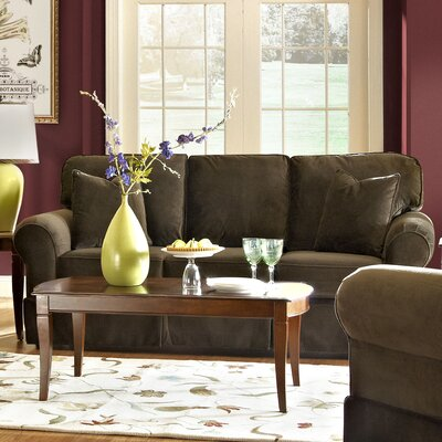 Greenough Sofa Upholstery: Bruges Chocolate