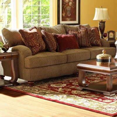 12013119853 KLF3059 Klaussner Furniture Conway Sofa