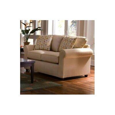 12013142219 KLF2988 Klaussner Furniture Brigthon Dreamquest Queen Sleeper Loveseat
