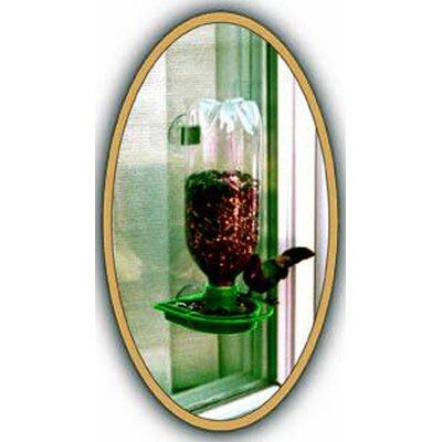 Window Soda Bottle Feeder in Green WP16137