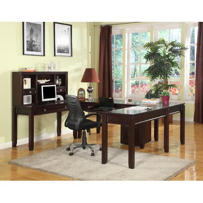 Boston U-Desk and Hutch Product Picture 22