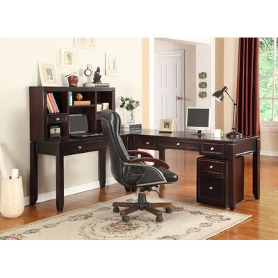Boston L-Desk and Hutch Product Image 433