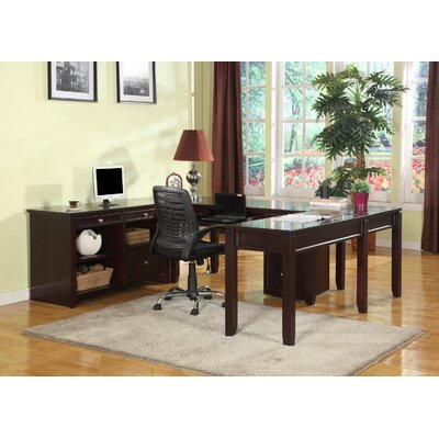 Boston U-Desk with Credenza Product Picture 22