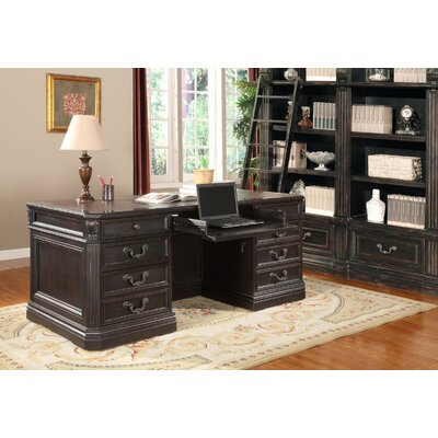 Grand Manor Palazzo Executive Desk and File Wall Product Picture 21
