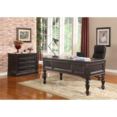 Grand Manor Palazzo Writing Desk and File Wall Product Picture 74