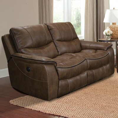 MREM822P-ST PKR2520 Parker House Remus Dual Power Reclining Loveseat