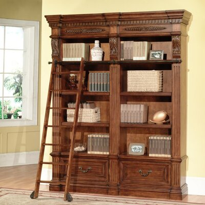 Grand Manor Granada 2 Piece Museum Bookcase with Ladder Product Image 909