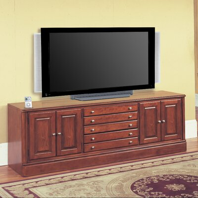 Cheap Parker House Charthouse 78″ TV Stand with iPod Dock in Honey Brown (PKR1829)