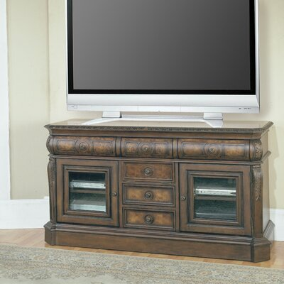 Cheap Parker House Andria 65″ TV Stand in Antique Pecan (PKR1810)