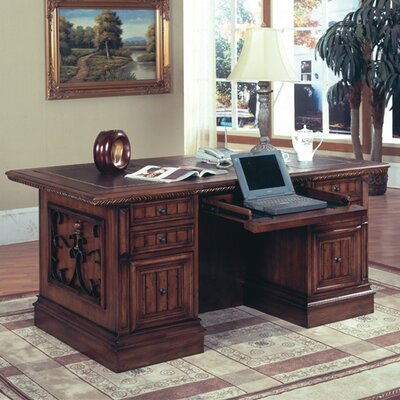 Barcelona Double Pedestal Executive Desk Product Picture 21