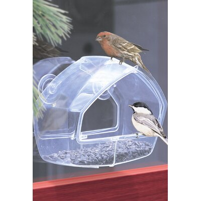 Window Bird Feeder in Clear PP348