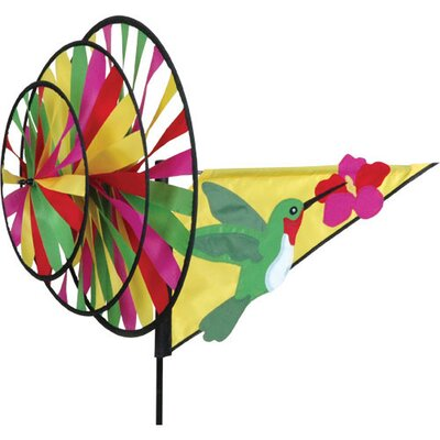Hummingbird Triple Wind Spinner