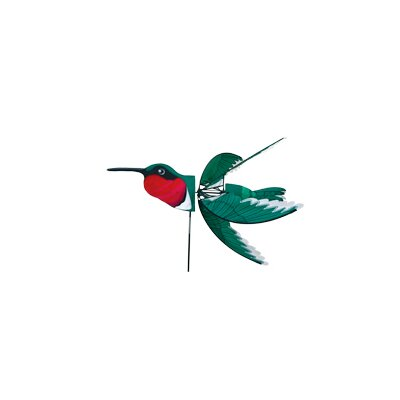 Ruby Throated Hummingbird Spinner
