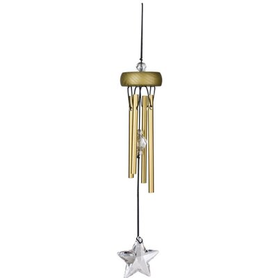 Starlight Wind Chime Color: Gold STARGO
