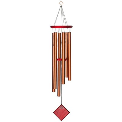 Chimes of Earth Color: Bronze WOODDCB37
