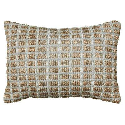 Natural Fiber Accent Cotton Throw Pillow Color: Gray
