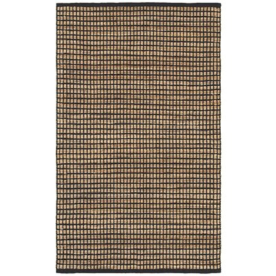 Natural Fiber Black Area Rug Rug Size: 5 x 79