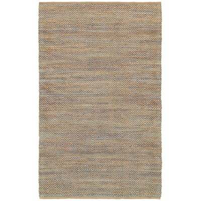 Natural Fiber Blue Area Rug Rug Size: 8 x 10