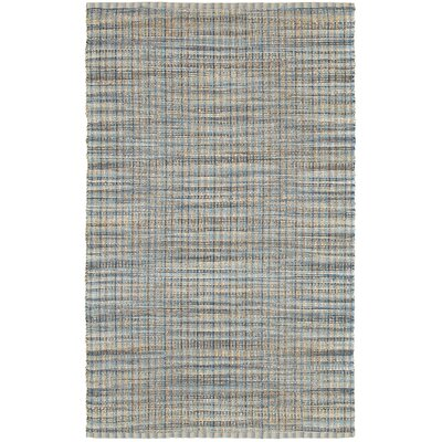 Natural Fiber Navy Area Rug Rug Size: 9 x 12