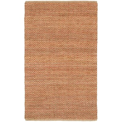 Natural Fiber Red Area Rug Rug Size: 8 x 10