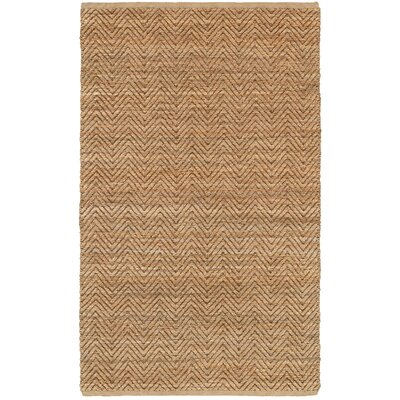 Natural Fiber Brown Area Rug Rug Size: 8 x 10