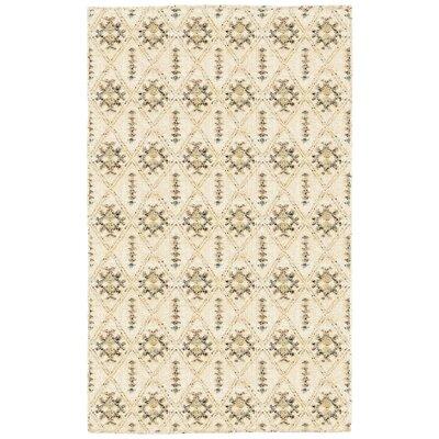 Rajani Cream Geometric Rug Rug Size: 10 x 14
