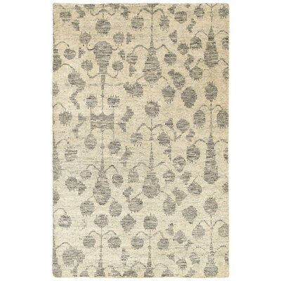 Rackers Ivory Natural Area Rug Rug Size: 53 x 75