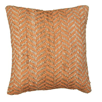 Accent Throw Pillow Color: Orange