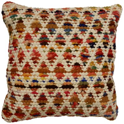 Harlequin Throw Pillow Color: Tan / Multi