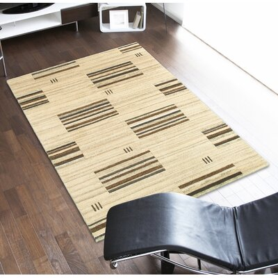 Wolfe Natural Area Rug Rug Size: 8 x 10