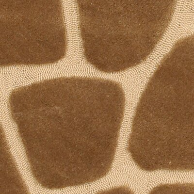 Fashion Natural Giraffe Area Rug Rug Size: 5 x 79