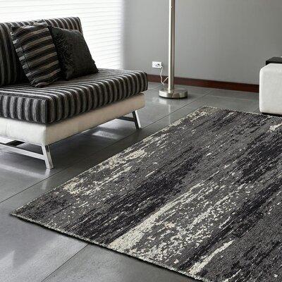 Rajani Gray Rug Rug Size: 79 x 99