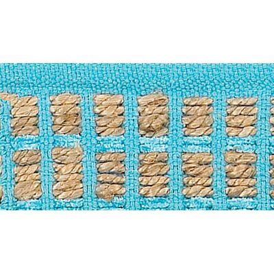 Accent Blue Area Rug Rug Size: 26 x 4