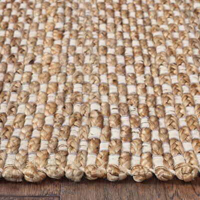 Tyrone Reversible Jute Hand-Woven Denim Area Rug