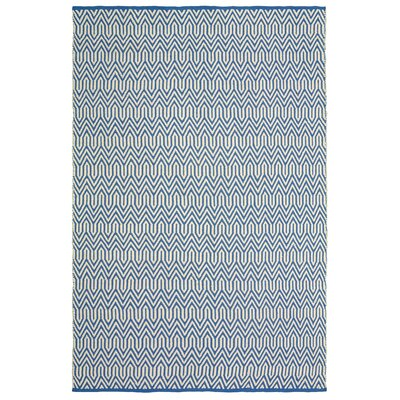 Johnstown Inside-Out Hand-Woven Blue Indoor/Outdoor Area Rug Rug Size: 8 x 10