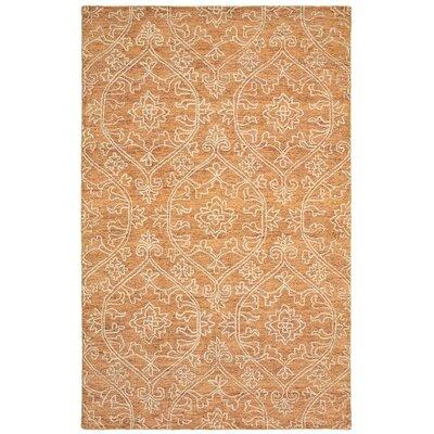 Devansh Hand-Tufted Wool Rust Area Rug Rug Size: 5 x 79