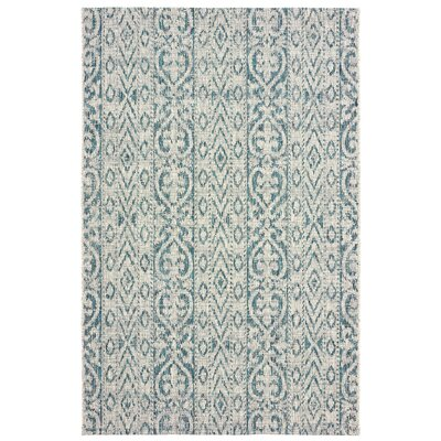 Dilip Blue Indoor/Outdoor Area Rug Rug Size: 8 x 10