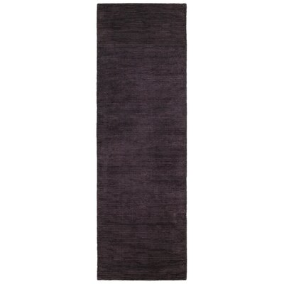 Satori Hand-Loomed Purple Area Rug Rug Size: Runner 25 x 79