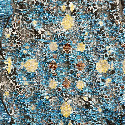 Amory Brown/Blue Area Rug Rug Size: Rectangle 89 x 119