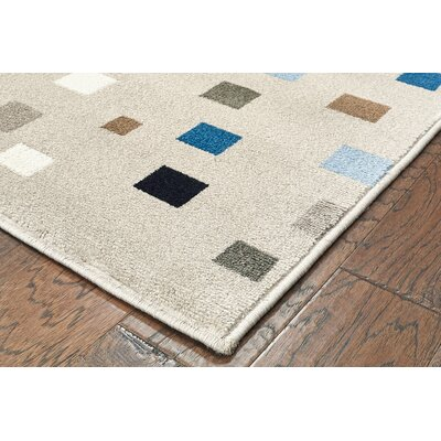 Gulf Gray Area Rug Rug Size: Rectangle 5 x 7