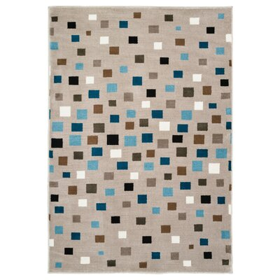 Gulf Gray Area Rug Rug Size: Rectangle 36 x 56