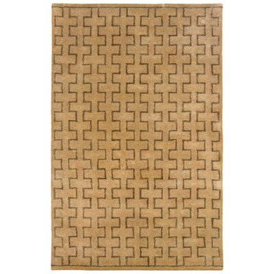 Majestic Hand-Tufted Natural Area Rug Rug Size: 5 x 79