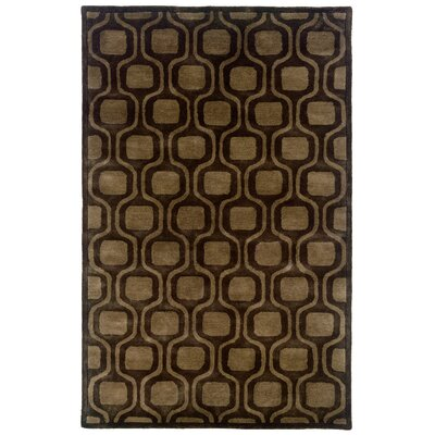 Majestic Hand-Tufted Charcoal Area Rug Rug Size: 5 x 79
