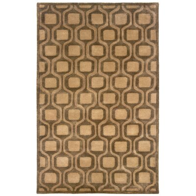 Majestic Hand-Tufted Natural Area Rug Rug Size: Rectangle 5 x 79